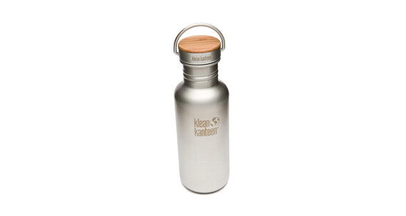 Botella Klean Kanteen Reflect 532 ml de acero cepillado